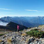 秋晴れの白馬三山から唐松岳♪その2