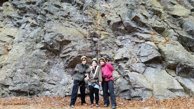 天然岩クライミング・白馬