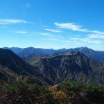 深まる秋の立山三山~大日岳