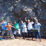 天然岩クライミング!5月4日
