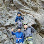 天然岩クライミング!5月5日