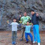天然岩クライミング!5月3日