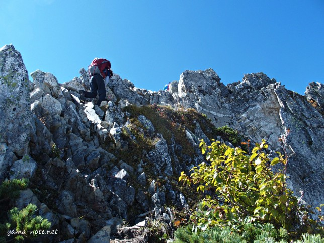 Hakuba3mountains to Karamatsu201509177