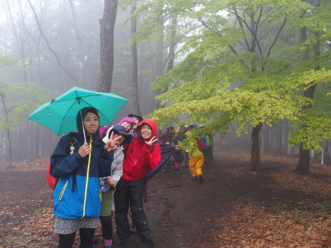 山ガールツアー