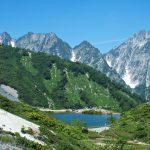 登山日和の唐松岳