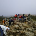 登山道整備の日