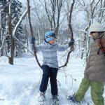 新雪を満喫!スノーシューツアー