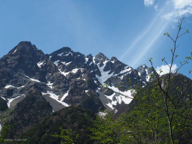 上高地・明神岳