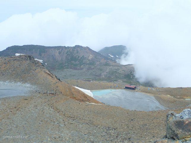 御嶽山二ノ池2019年7月
