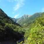 夏の終わりと秋の入口、パノラミック北岳