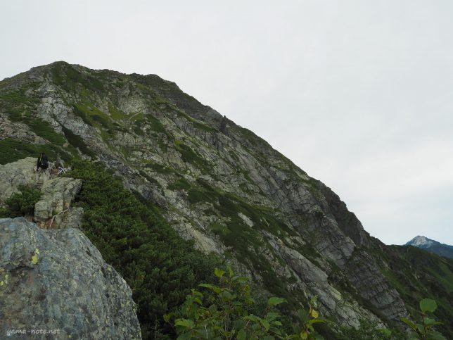 南アルプス北岳バットレス