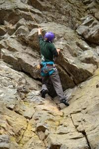 白馬 クライミング 自然岩