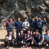 白馬,クライミング,天然岩,ロッククライミング,岩登り,部活,サークル,合宿